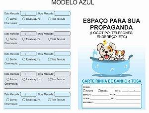 Carteirinha Banho & Tosa - Pet Personalizada