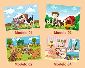 Quebra-cabeça INFANTIL - 20 Peças (13 Modelos a escolher)
