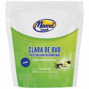 Albumina (Clara de Ovo) 500g - Maxxi Ovos