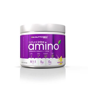 NATURAL VEGAN INTRA AMINO FERMENTED 8:1:1 - 210G - Adaptogen Science