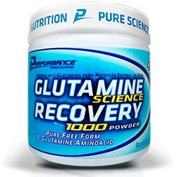 GLUTAMINE SCIENCE RECOVERY 1000 POWDER - PERFORMANCE NUTRITION