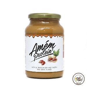 Amem Protein 600g (Sabores) - Pasta de Amendoim