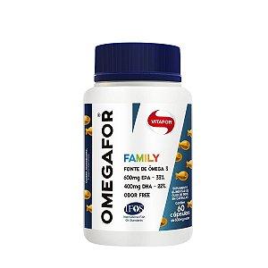 Omegafor Family 60 Caps 500mg Vitafor