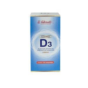 Vitamina D3 Naturalis 120 Comprimidos 2.000ui