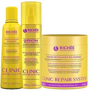 Máscara Richée Professional Clinic Repair System Kit 500g