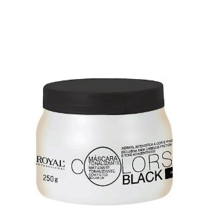Máscara Tonalizante Royal Professional Colors Black 250gr