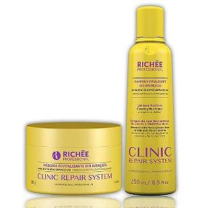 Shampoo + Máscara 250g Clinic Repair Richée Kit Duo