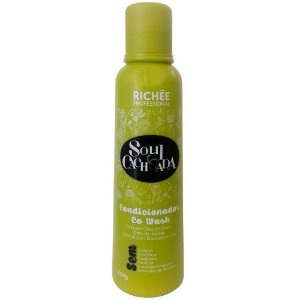 Condicionador Soul Cacheada Co Wash Richée Professional 250g