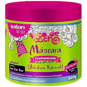 Máscara #TodeCacho Tratamento Pra Arrasar Salon Line 500g
