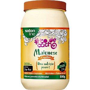 Maionese Capilar TodeCacho Nutrição Power Salon Line 500g