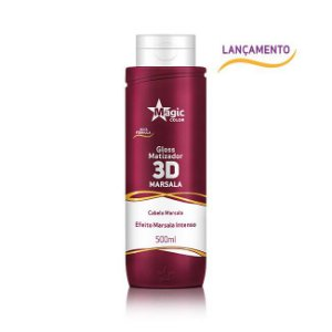 Marsala 3D Gloss Matizador Efeito Marsala Intenso - 500ml