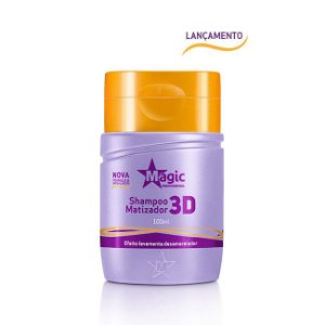 Magic Color Mini Shampoo Matizador 3D 100ml
