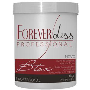Botox Capilar Argan Oil 1Kg Forever Liss