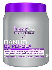 Forever Liss Banho de Pérola Blond Loiro Brilhante 1Kg