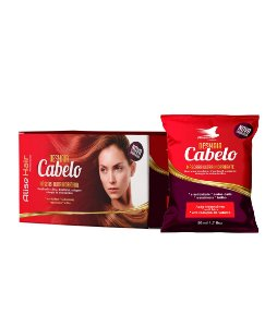 Alise Hair Desmaia Cabelo Máscara Ultra Hidratante 50ml Display c/24un
