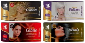 Alise Hair Progressiva De Chuveiro - Display C/24 Sachê 50ml - Combo 4 Caixas