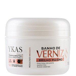 Ykas Banho De Verniz Máscara Brilho Máximo 50g