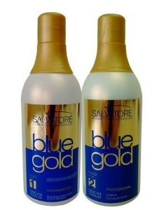 Salvatore Blue Gold Escova Progressiva 2 Passos 500ml