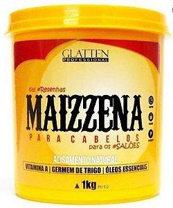 Glatten Maizzena Máscara Capilar Alisamento Natural 1K