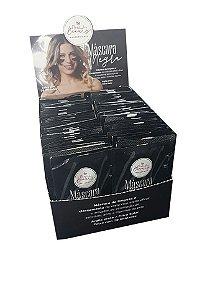 Máscara Negra Limpeza Facial New Beauty 7ml - Caixa com 70uni