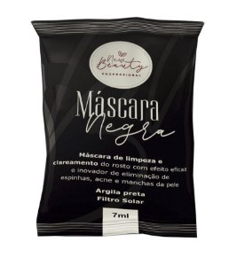 Máscara Negra Limpeza Facial New Beauty 7ml