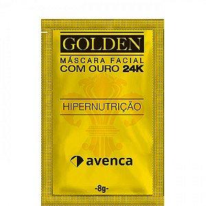 Máscara Golden 24K Hipernutrição Avenca 8g
