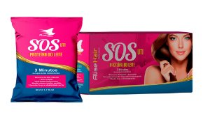 Alise Hair SOS 3 Minutos Antiemborrachamento Sachê Display C/24Un