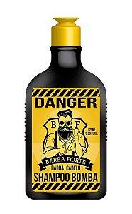 Shampoo Bomba Danger Barba Forte 170ml