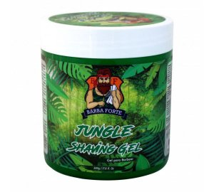 Gel Para Barbear Jungle Shaving Barba Forte 500g