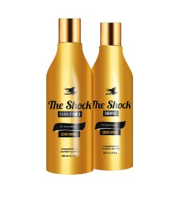 AliseHair The Shock Liso Supremo Shampoo e Fluido 2 x 500ml