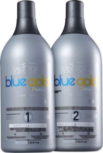 Salvatore Blue Gold Premium Escova Progressiva 2 Passos 1L