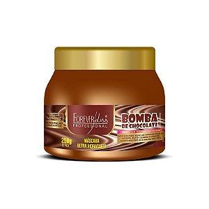 Máscara Forever Liss Bomba de Chocolate Hidratante 250g