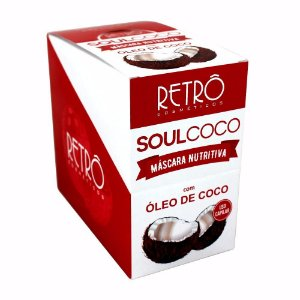 Soul Coco Máscara Nutritiva Retrô Cosméticos 20x30g