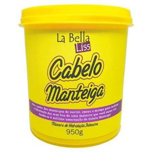 Máscara de Hidratação Profunda La Bella Liss Cabelo Manteiga 950g