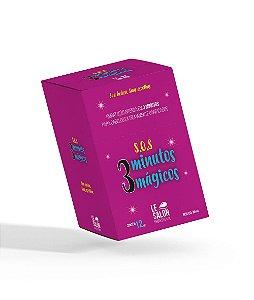Máscara SOS Le Salon Pro 3 Minutos Mágicos Caixa 12 Sachê 30g
