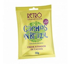 Creme Ativador de Cachos In Brazil Retrô Cosméticos 30g