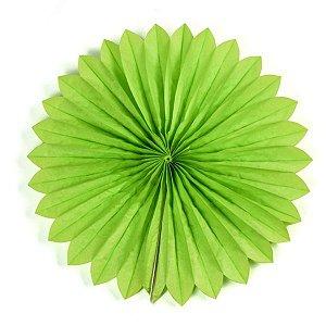 Margarida Leque de Papel Sunny Verde - 40 cm