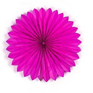 Margarida Leque de Papel Sunny Pink - 40 cm