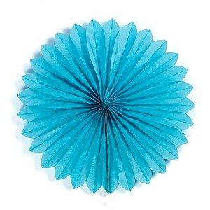 Margarida Leque de Papel Sunny Azul Claro - 50 cm