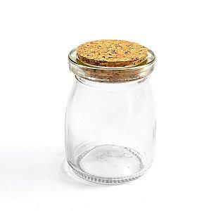Potinho de Vidro Sweet com Rolha - 100 ml - 1 Unidade