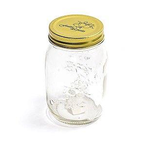 Pote de Vidro Jelly Original - 500 ml - 1 Unidade
