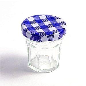 Potinho de Vidro Jelly Azul Escuro - 30 ml - 1 Unidade