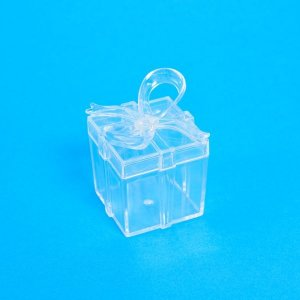 Caixinha Transparente Laçarote - 10 Unidades