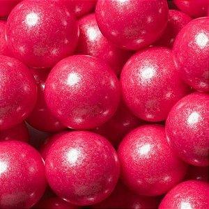 Chiclete Gumballs Pink Perolizado - 1 Pacote