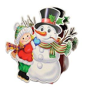 Sacola Natal Boneco de Neve