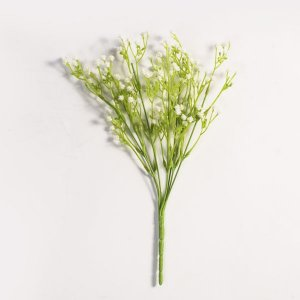 Flor Mosquitinho Artificial Branco - 30cm
