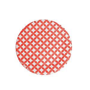 Pratos Redondos de Papel Happy - Embalagem com 10 Unidades