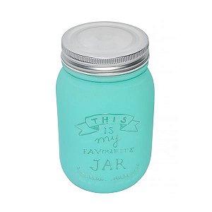 Mason Jars com Pintura Especial - 310 ml - 1 Unidade