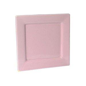 Pratos de Cerâmica Quadrados - 16 x 16 cm - 1 Unidade