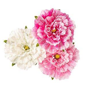 Flor Gigante de Tecido - 55 cm - 1 Unidade